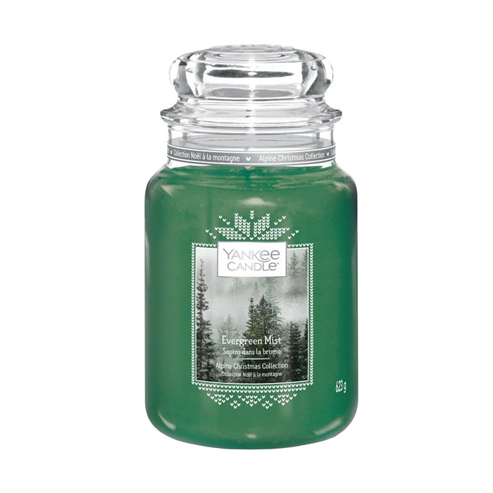 Yankee Candle Classic Large Evergreen Mist 623g