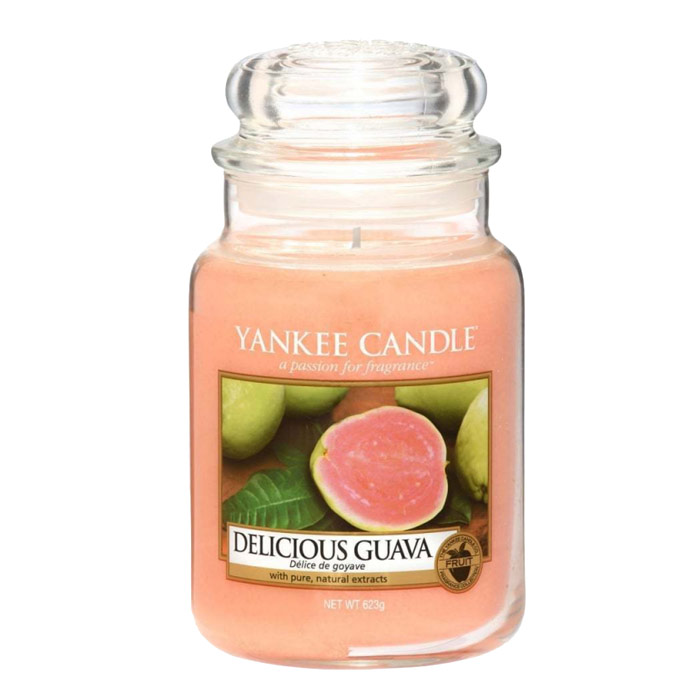 Yankee Candle Classic Large Jar Delicious Guava Candle 623g