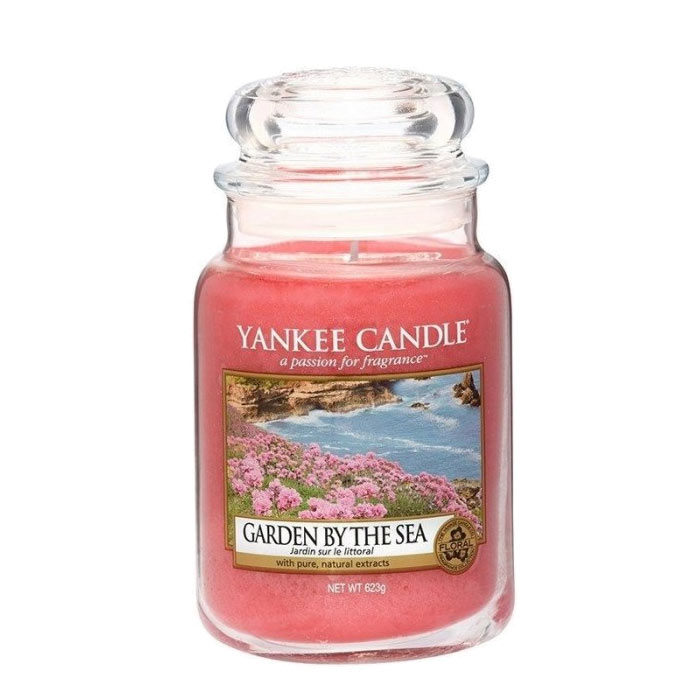 Yankee Candle Classic Large Jar Garden By The Sea Candle 623g