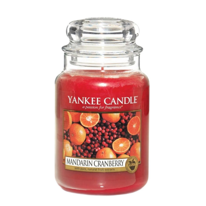 Yankee Candle Classic Large Jar Mandarin Cranberry Candle 623g