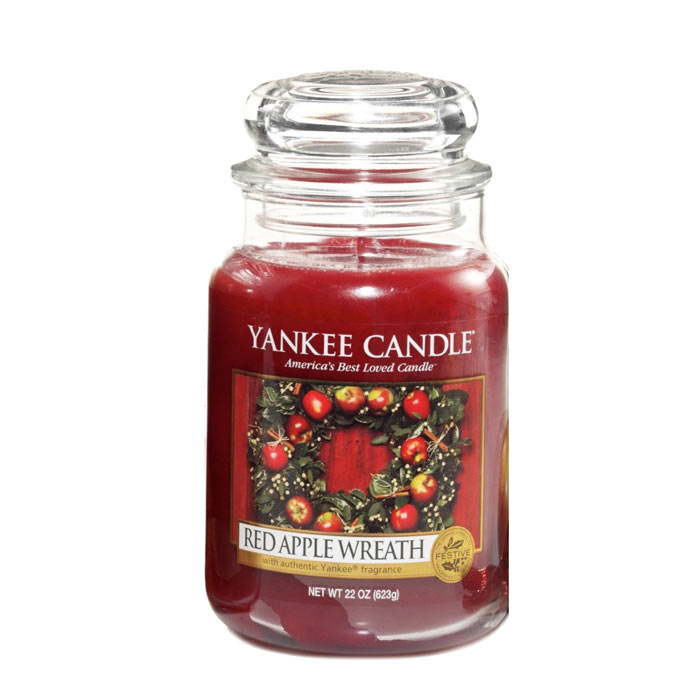 Yankee Candle Classic Large Red Apple Wreath 623g