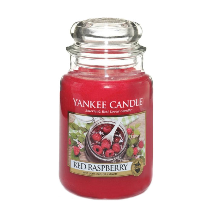 Yankee Candle Classic Large Jar Red Raspberry Candle 623g