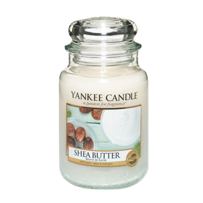 Yankee Candle Classic Large Jar Shea Butter Candle 623g