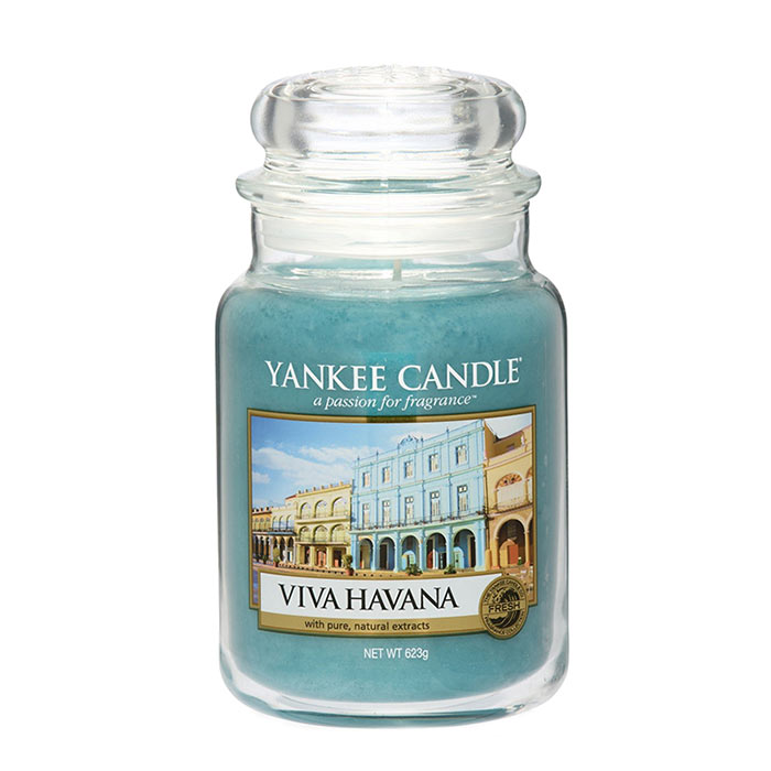 Yankee Candle Classic Large Jar Viva Havana Candle 623g