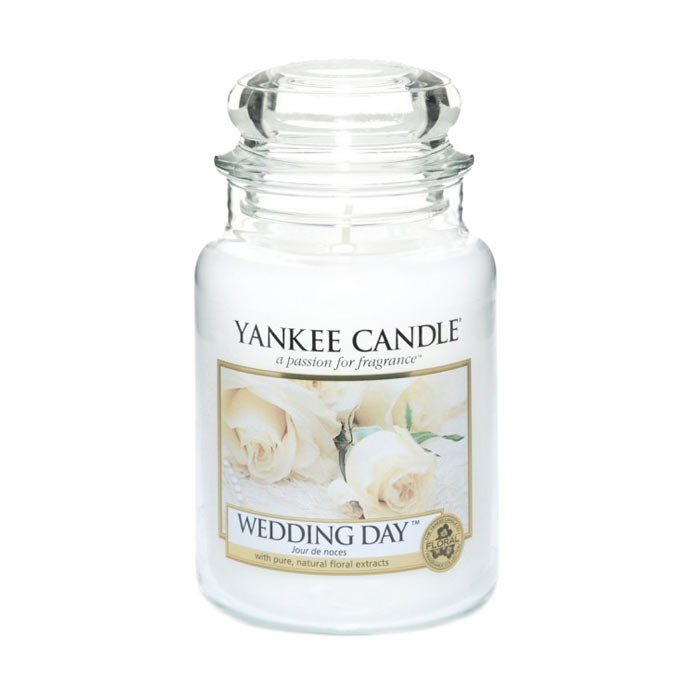 Yankee Candle Classic Large Jar Wedding Day Candle 623g
