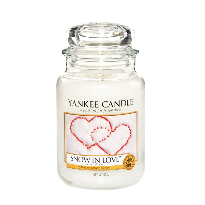 Yankee Candle Classic Large Snow In Love 623g