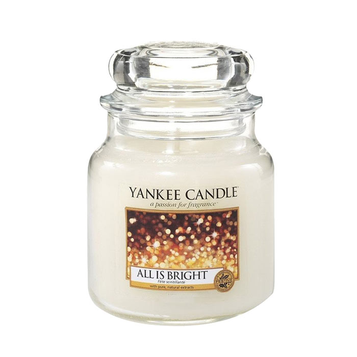 Yankee Candle Classic Medium Jar All is Bright 411g