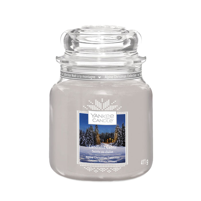 Swish Yankee Candle Classic Medium Jar Sweet Nothings 411g