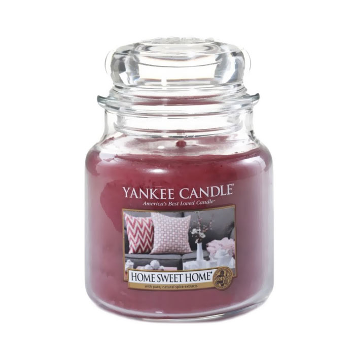 Yankee Candle Classic Medium Jar Home Sweet Home Candle 411g