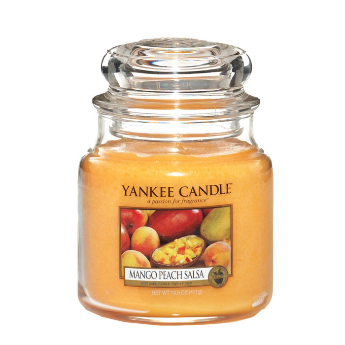 Yankee Candle Classic Medium Jar Mango Peach Salsa 411g