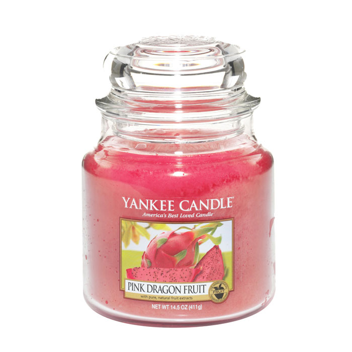 Yankee Candle Classic Medium Jar Pink Dragon Fruit Candle 411g