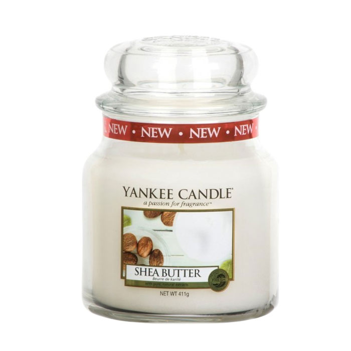 Yankee Candle Classic Medium Jar Shea Butter Candle 411g