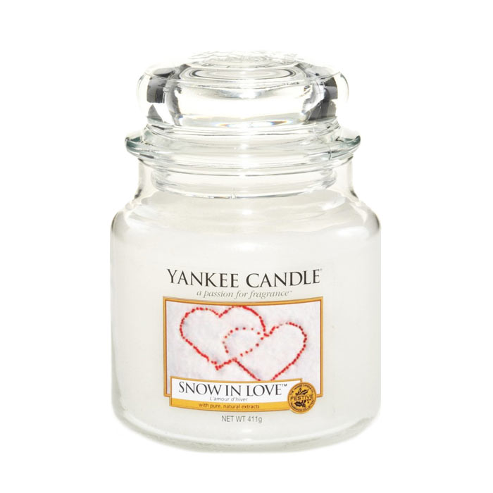 Yankee Candle Classic Medium Jar Snow In Love 411g
