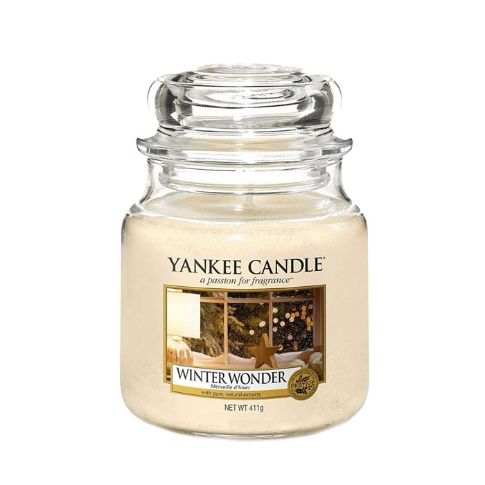 Yankee Candle Classic Medium Jar Winter Wonder 411g