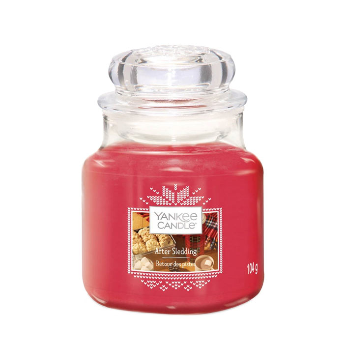 Yankee Candle Classic Small Jar After Sledding 104g