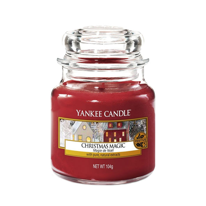 Yankee Candle Classic Small Jar Christmas Magic 104g