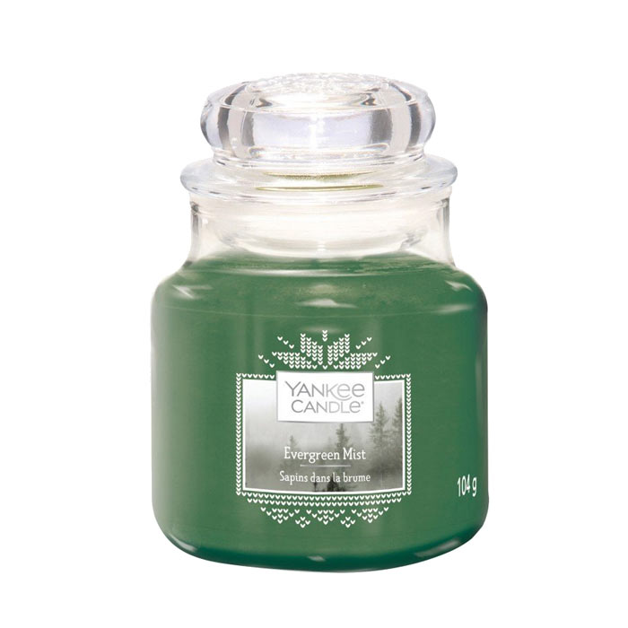 Yankee Candle Classic Small Jar Evergreen Mist 104g
