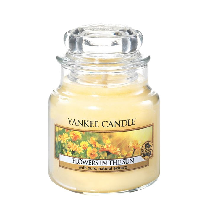 Yankee Candle Classic Small Jar Flowers In The Sun Candle 104g