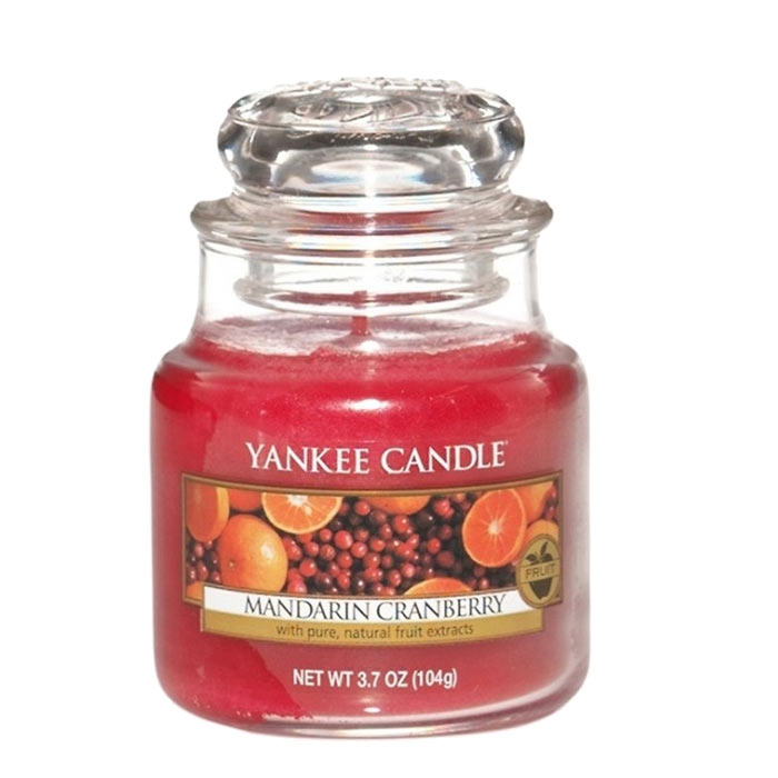 Yankee Candle Classic Small Jar Mandarin Cranberry Candle 104g