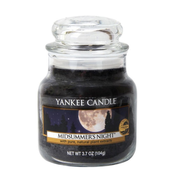 Yankee Candle Classic Small Jar Midsummer Night Candle 104g
