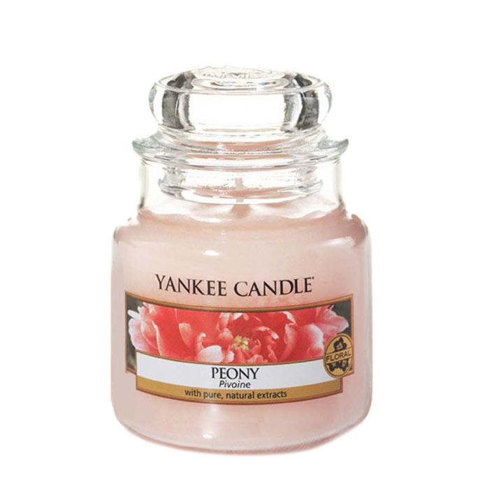 Yankee Candle Classic Small Jar Peony Candle 104g