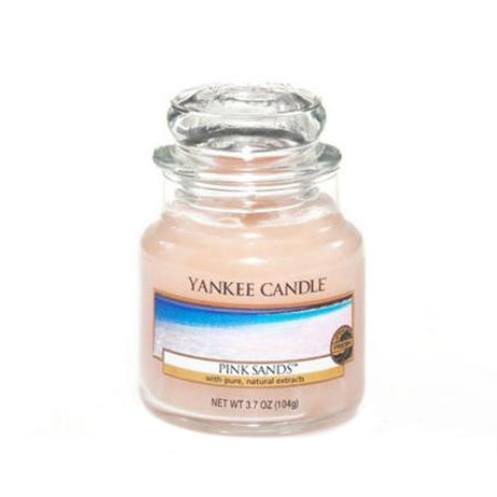 Yankee Candle Classic Small Jar Pink Sands Candle 104g