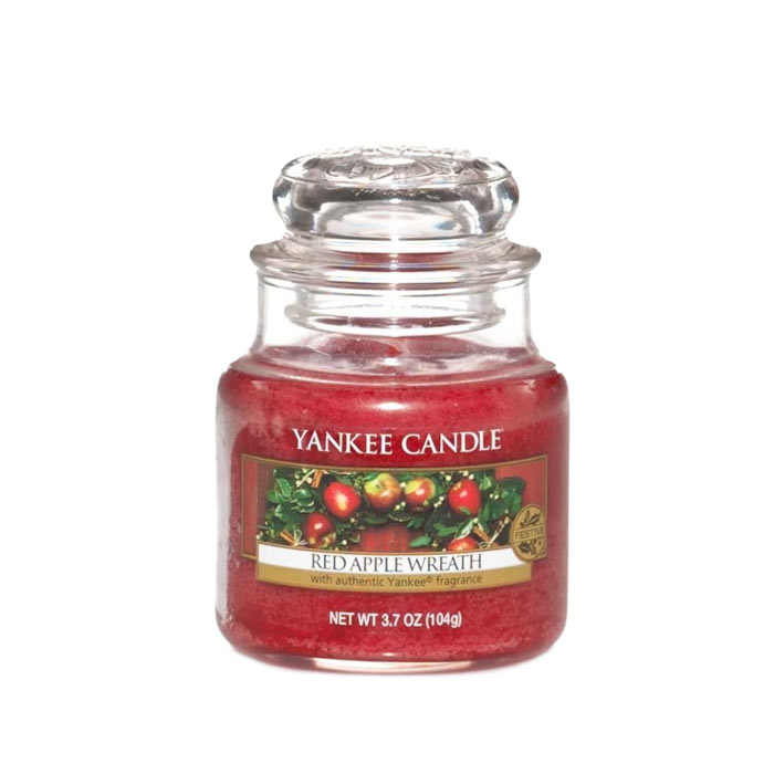 Yankee Candle Classic Small Jar Red Apple Wreath 104g
