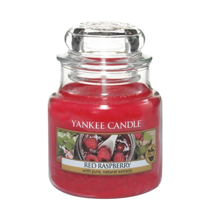 Yankee Candle Classic Small Jar Red Raspberry Candle 104g