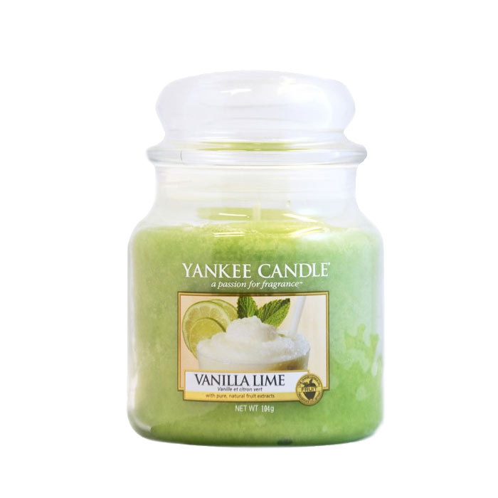 Yankee Candle Classic Small Jar Vanilla Lime Candle 104g