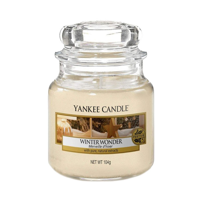 Yankee Candle Classic Small Jar Winter Wonder 104g