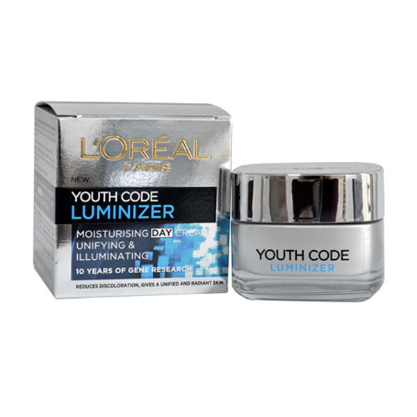 Youth Code Moisturising Day Cream 50ml Unifying and Illuminating